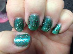 Christmas nails 2013 #2