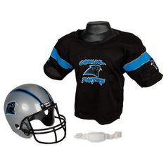 Carolina Panthers Youth NFL Helmet and Jersey Set Halloween Costumes 0b1731f52