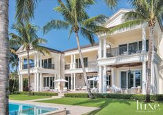 Architect Benjamin Schreier of Affiniti Architects in Boca Raton, FL. Luxe Interiors & Design.