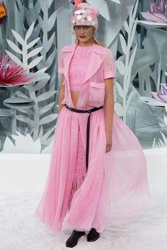 Chanel Spring 2015 Couture Fashion Show - Sigrid Agren (Elite)