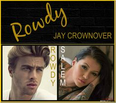 Rowdy by Jay Crownover - win signed copies of the Marked Men series http://sinfullysexybooks.blogspot.co.uk/2014/10/rowdy-by-jay-crownover-blog-tour-and.html