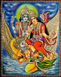 Original hand made tanjore paintings Mysore Painting, Tanjore Painting, Krishna Painting, Lord Krishna Images, Radha Krishna Images, Mural Painting, Painting & Drawing, Saraswati Goddess, Lakshmi Images