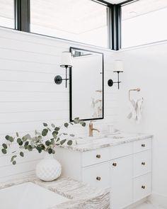 Shiplap bathroom! Love