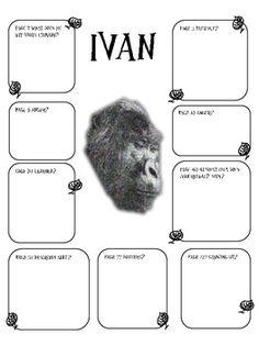 The One and Only Ivan Novel Study by Dianne Watson by Dianne's Language Diner Third Grade Reading, Middle School Reading, Second Grade, Drama Activities, Reading Activities, Homeschool Books, Homeschooling, Library Lesson Plans, First Year Teaching