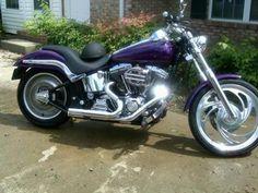 Yes please. Harley Deuce Purple!