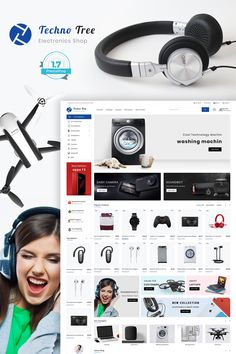 TechnoTree The Best Eclecronics Store Template is a good choice for selling #Fashion,#Electronics, #Art, #webibazaar #webiarch #Bicycle, #Furniture, #design #template #flower #kidswear #Cake #Furniture #Flower #Food #appliances #bag #ceramic #cosmetic #fashion #flower #coffee #undergarments #home #bodysuits #typography #beachwear #WebsiteShoppingCart #lingerie #eCommerce #jewellery #organic #pet-store #power-tool #resturant #shoes #watch