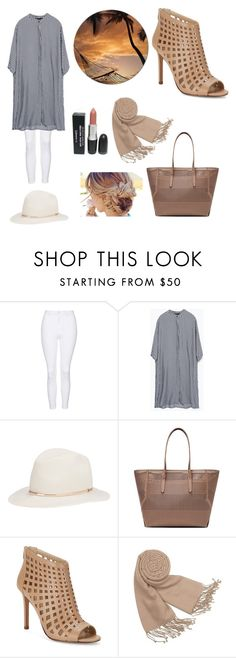 """""""#73   HIJAB"""" by rasheel ❤ liked on Polyvore featuring Topshop, Zara, Janessa Leone, Charles by Charles David and Forzieri"""