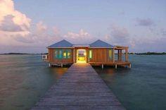 10 bangalôs incríveis sobre o mar Cayo Espanto Ambergris Caye, Belize