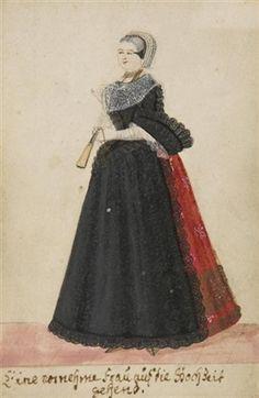 Augsburgische Kleidertrachten (6 works) von Helena Regina Rohbausch