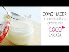 Como Hacer Aceite de Coco Orgánico Prensado en Frío para la Piel y el Cabello♥ YARAH♥ - YouTube