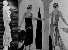 Illustrations from the magazine Vogue, 1924