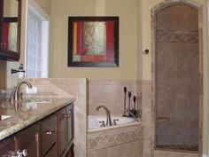 Fruitland Ranch Home Master Bathroom Photo 01 from houseplansandmore.com
