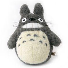 Totoro Plush: Grin (S)  Price: $39.99