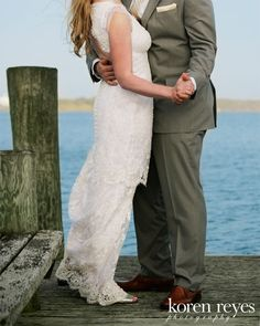 """I really love this one because they have a """"dock"""" on the pond and also because they are not going to have a dance at the reception i wanted to get some of them alone for them."""