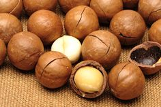 Macadamia Nut - The Macadamia nut went from being a simple bush tucker food to a luxurious ingredient and snack.