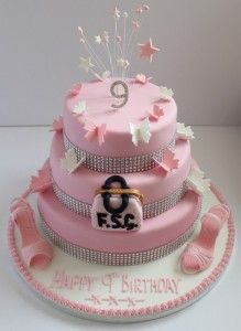 happy birthday cake 9 years old girl