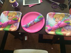 Tinker bell party decoration