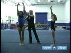 ▶ Gymnastics Moves & Routines for Beginners : Gymnastics Positions for Beginners - YouTube