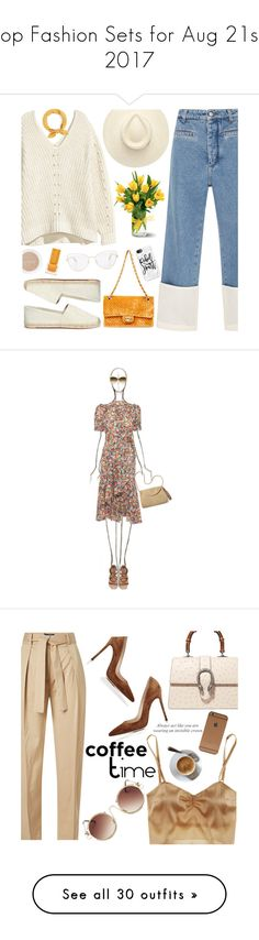 """Top Fashion Sets for Aug 21st, 2017"" by polyvore ❤ liked on Polyvore featuring Loewe, Tory Burch, Casetify, Habit Cosmetics, Victoria Beckham, Summer, inspiration, summerinspo, Steven Alan and Mar y Sol"
