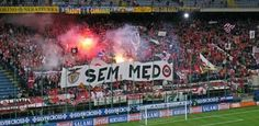Benfica Supporters (away in Italy - Inter Milan)