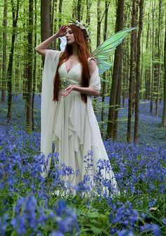 Again a stunning photo..........blue_bell_faerie-21cropped by Violaine Villota, via Flickr
