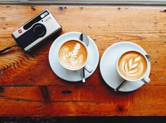 Leica and two coffees