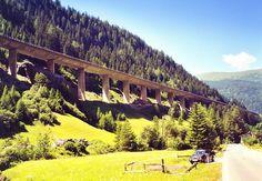 Die Brenner - Autobahn in Österreich
