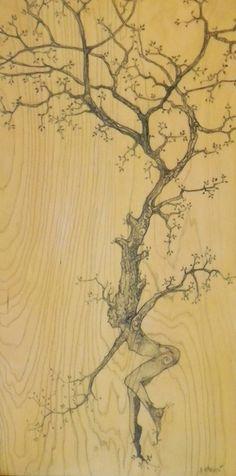 trees dance