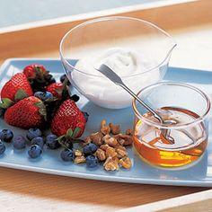 Yogurt-Berry Cups