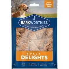 Shop for Barkworthies Bully Delights - 8 oz. (Case of Get free delivery On EVERYTHING* Overstock - Your Online Dog Supplies Store! Dog Training Treats, Bully Sticks, Natural Dog Treats, Dog Chews, Holiday Wishes, Dog Supplies, Shopping Hacks, Small Dogs, Bullying