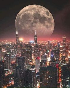 Here are a selection of amazing and awe inspiring supermoon 2016 images for your enjoyment and creative inspiration. The sky at night never looked so good as when illuminated by the light of a true supermoon. Beautiful Moon, Beautiful World, Beautiful Places, Beautiful Pictures, Photographie New York, Photo Voyage, Shoot The Moon, Photo Portrait, Moon Pictures