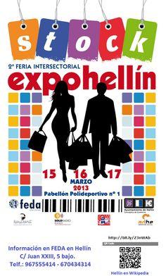 2ª FERIA INTERSECTORIAL EXPOHELLÍN. ALBACETE. CASTILLA-LA MANCHA. http://es.wikipedia.org/wiki/Hell%C3%ADn