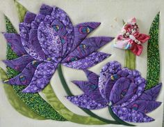 Sew Many Gifts - 19 Handmade Delights to Give or Keep Quilt Block Patterns, Applique Patterns, Applique Quilts, Applique Designs, Mini Quilts, Wool Quilts, Hand Applique, Flower Applique, Flower Quilts