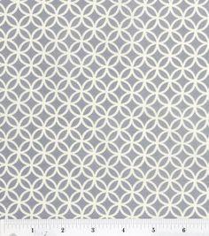 Quilter's Showcase Fabric-Gray Circle Tile: fabric: Shop | Joann.com $2.99