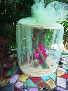 Homemade Butterfly House @ www.transitantenna.com