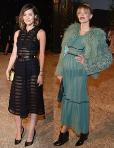 Rose Byrne e Jamie King - Burberry