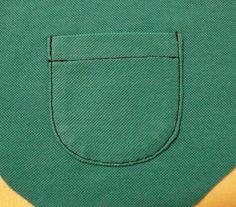 Бармалейкины п[р]оделки: МК Накладной карман