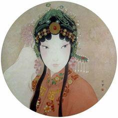 周雪*国画/暗香妆红 - 香儿 - xianger
