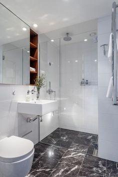 Bilderesultat for hexagon badrum marmor
