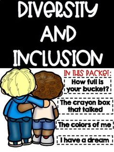 Diversity and Inclusion Activities by Scribbles and Scrabble Reading Resources, Math Resources, Classroom Resources, Classroom Decor, Kindergarten Freebies, Kindergarten Activities, I Am Unique, Back To School Activities, School Ideas