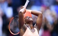 Scarica sfondi Sloane Stephens, 4k, WTA, partita, giocatori di tennis, campi da tennis