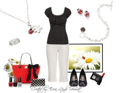 """For all of the little ladies in your life.   Featuring: """"Ladybug"""" necklace and earrings. """"The Gift"""" bracelet. """"Cellini"""" ring."""