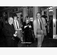 Dorothy Deanne Hall & Jack Hall out with Diane Keaton and Warren Beatty ❤