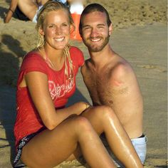 Two amazing people with amazing stories!  Bethany Hamilton and Nick Vujicic.
