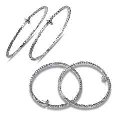 Ebay NissoniJewelry presents - Ladies' 3 3/4CT Diamond Inside and Out Hoop Earrings in 14k White Gold    Model Number:E7671RL-W477    http://www.ebay.com/itm/Ladies-3-3-4CT-Diamond-Inside-and-Out-Hoop-Earrings-in-14k-White-Gold/321612196859