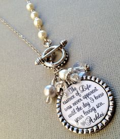 MOTHER of the GROOM gift PERSONALIZED jewelry  essence by buttonit, $30.00