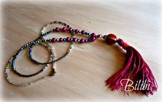 Bilibì: Collana con nappina (tassel necklace)