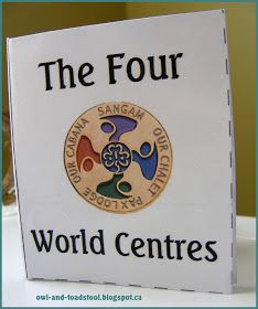 Owl & Toadstool: Four World Centres Mini Book