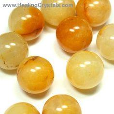 Sphere - Yellow Aventurine Spheres- Yellow Aventurine - Healing Crystals