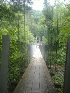 Footbridge near Sylva, NC (I need to look this one up)